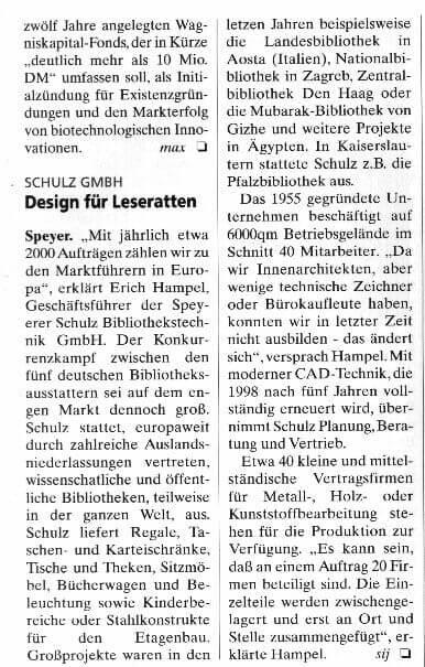 Wirtschaftsmagazin Pfalz 11-1997