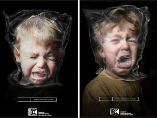Kinder und Rauchen