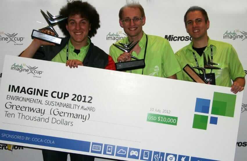 Environmental Sustainability Award Winner Team Greenway Germany