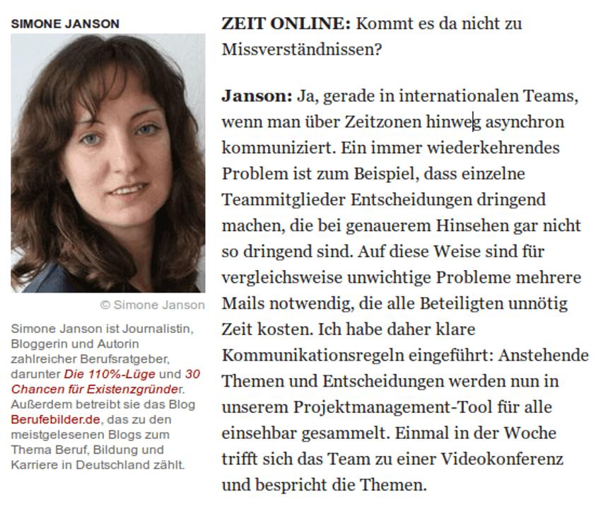 """{Presse} """"Eines der meistgelesenen deutschen Blogs für Beruf, Bildung und Karriere"""": Best of HR – Berufebilder.de® in ZEIT ONLINE"""