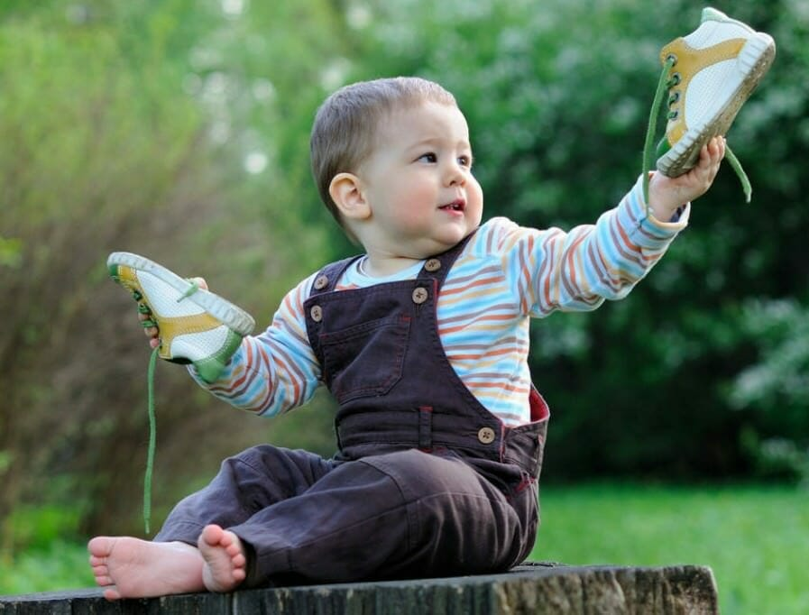 Mental blockages and brain waves in childhood: Open to any influence baby