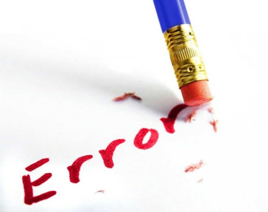 Fehlerkultur in Unternehmen: Prozessoptimierung in 10 Schritten error