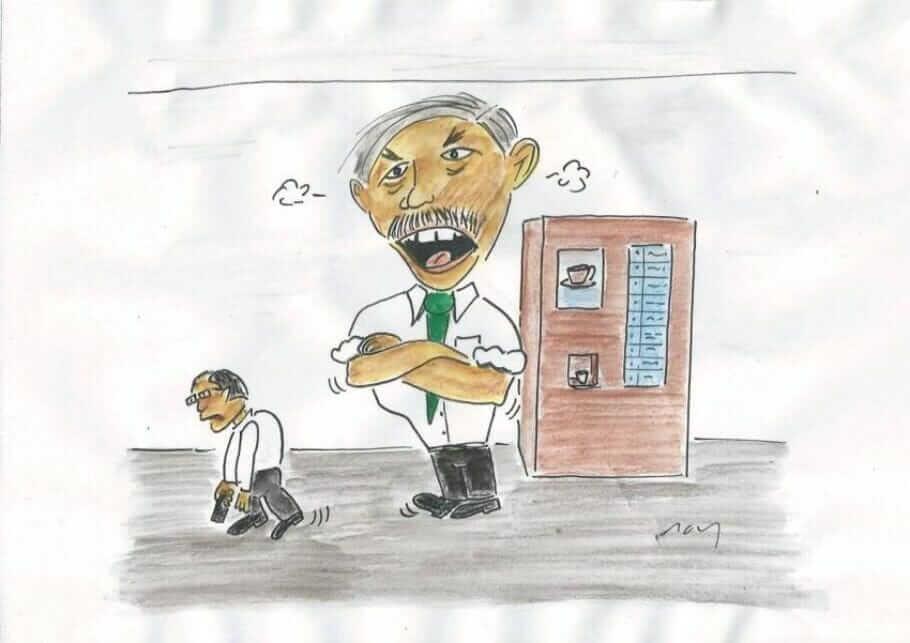 Leadership satire: Hurray, an employee appraisal! Leadership management-leadership-satire7