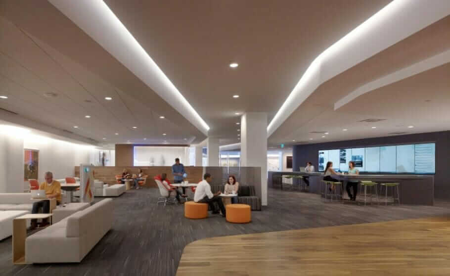 How the workplace promotes innovation: 5 Tips for Productive Office Designing Innovation-enhancing Work Environments - Photo Steelcase