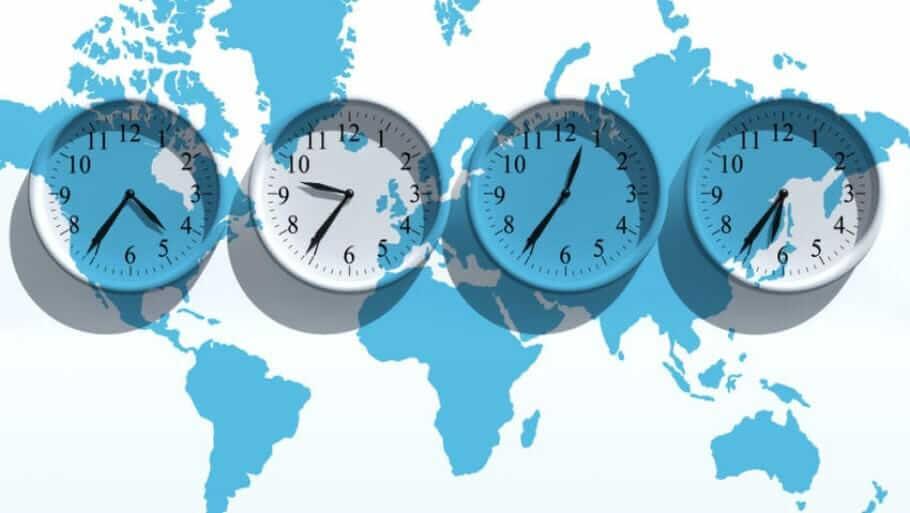Internationale Zusammenarbeit_Zeitverschiebung