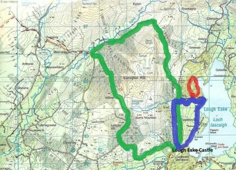 Wandern im Norden Irlands: Regenwandern in Donegal {Review} Irland-Dongeal001