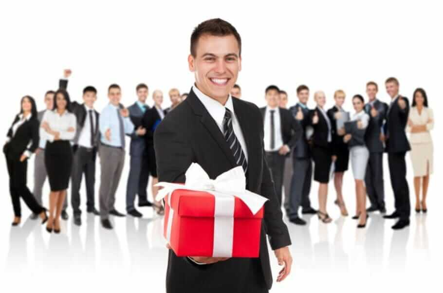 Make and accept company gifts: 2 times 6 tips for professional gifts knigge Christmas gifts