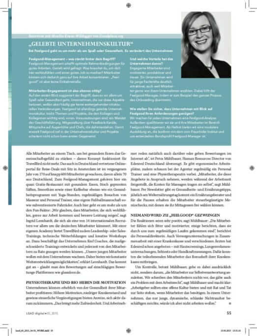 Feelgood-Management und Employer Branding: Die Kuschel-Unternehmen lead2
