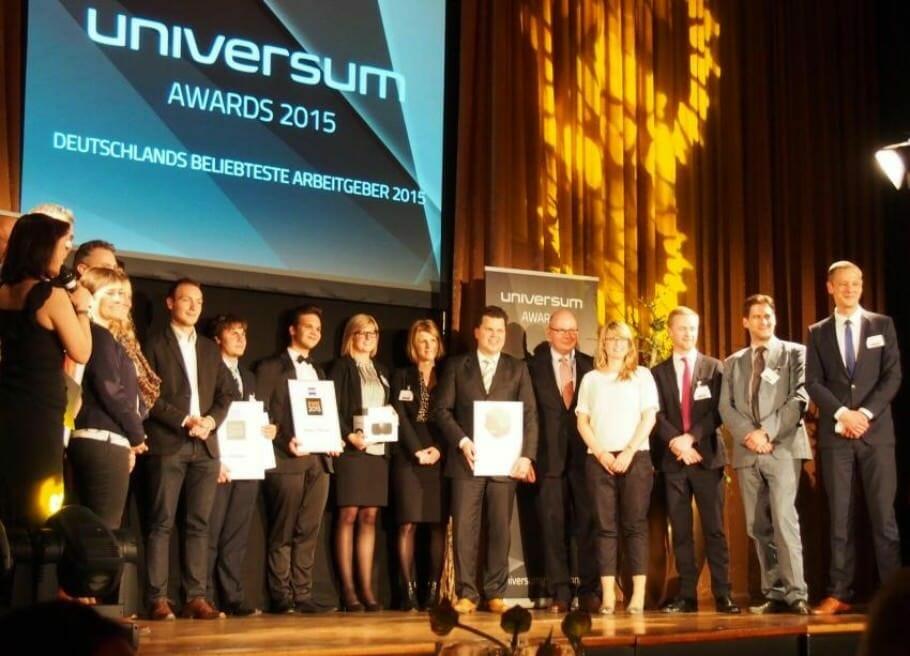 {Medienpartnerschaft} Hintergrund-Bericht von den Universum-Awards: Die Bescheidenheit der Top-Arbeitgeber Universum Awards