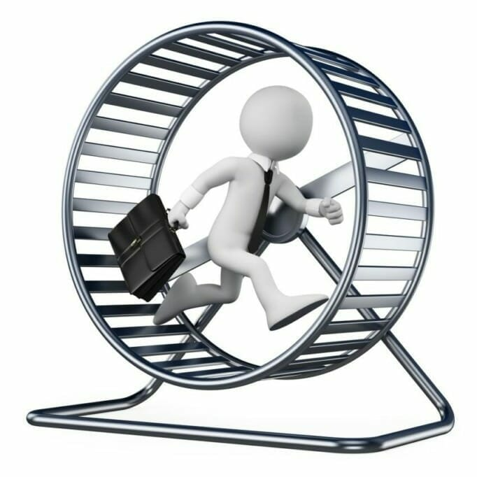 Reach goals with motivation, Get out of the hamster wheel: 5 tips for tomorrow's future success
