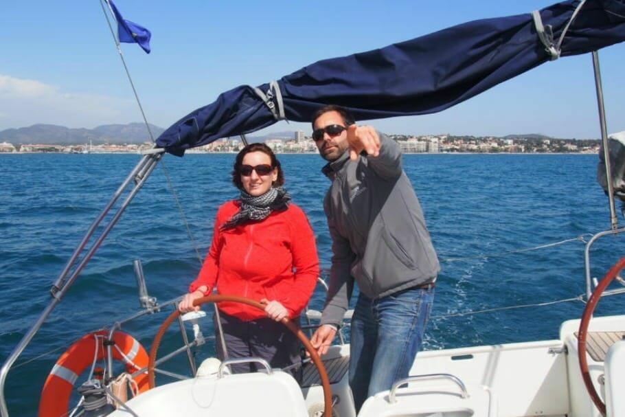 Outdoor-Teambuilding an der Côte d'Azur: Klettern und Segeln in Var {Review} cote-d-azur-teambuilding-3