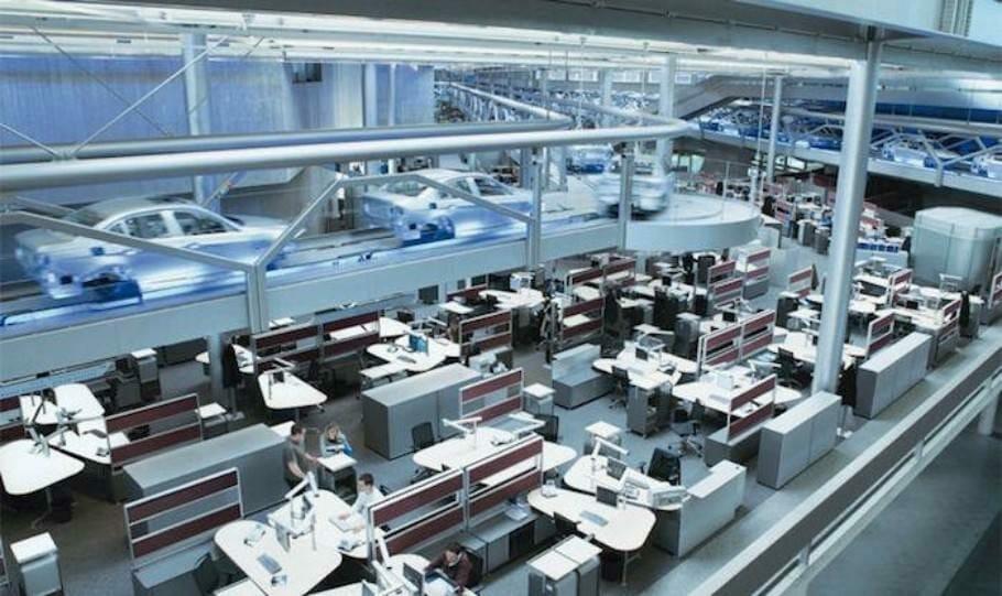 Kreative Arbeitsplatzgestaltung: Die 10 coolsten Büros Deutschlands {Review} Glassdoor_03_Buerofoto_BMW