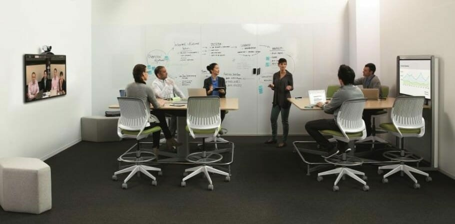 Intelligent interior design supports the internationalization of the world of work - Photo Steelcase