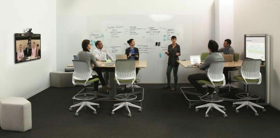 Intelligente Raumgestaltung unterstützt die Internationalisierung der Arbeitswelt – Foto Steelcase