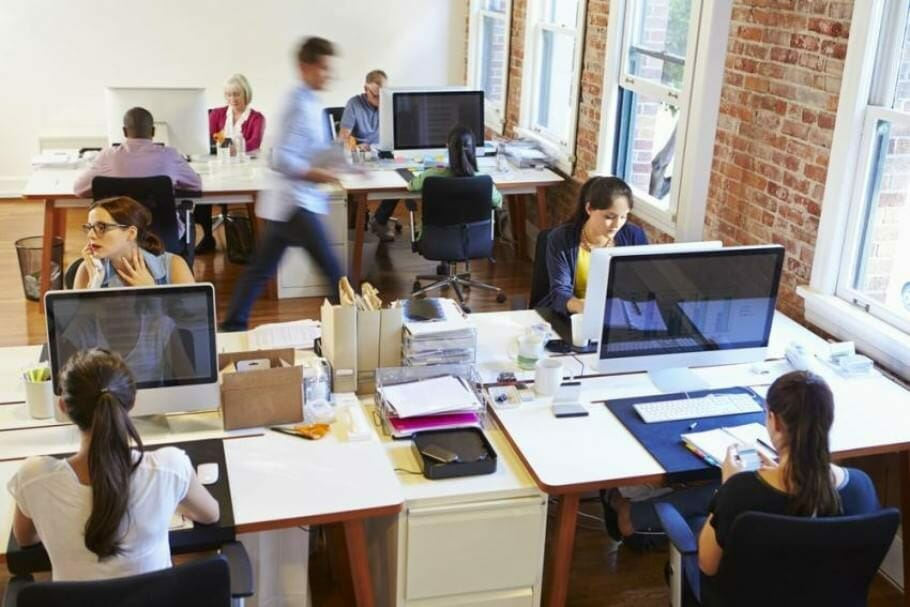 Kathrin Sohst_Power killer open-plan office