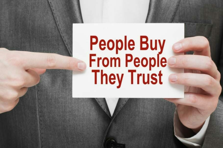 People buy from people