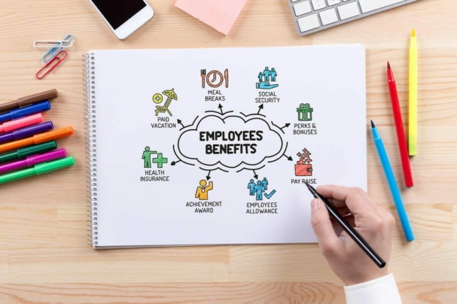 Fringe Benefits for Employees: 10 compensates for top company salaries with employee benefits