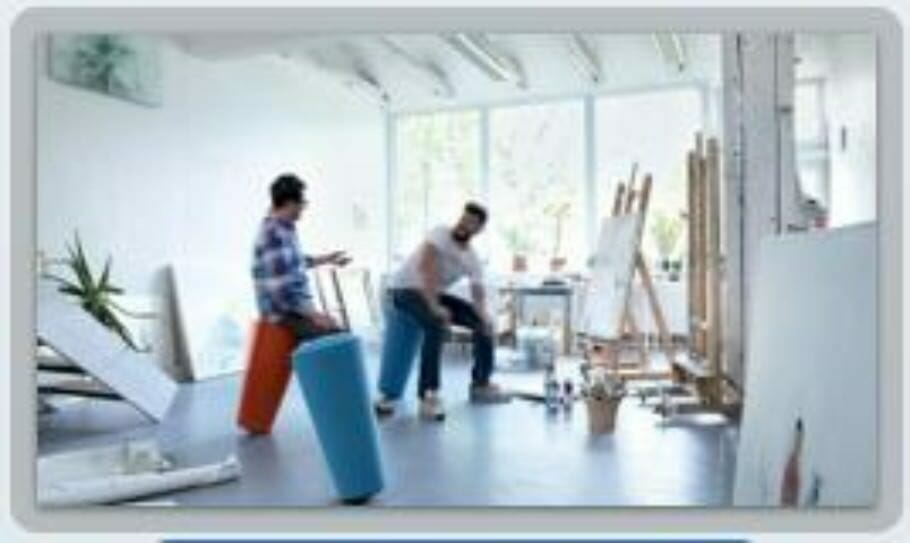 Cooperation with ORGATEC: How healthy is your workplace? standup