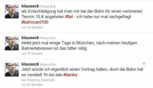 {Replik} Werbefails von Deutscher Bahn: Lockangebote verarschen Premium-Kunden {Replik} Werbefails von Deutscher Bahn: Lockangebote verarschen Premium-Kunden