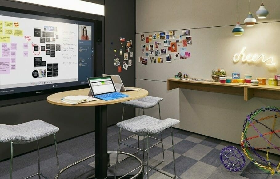 The Ideation Hub enables creative team work (Photo: Steelcase)