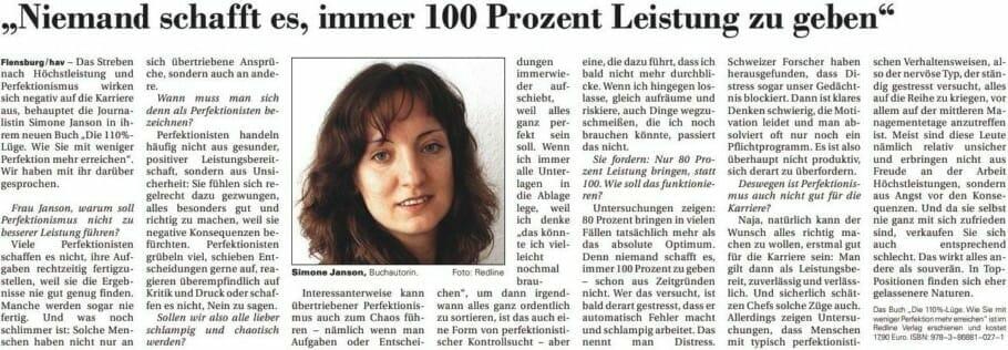 {Presse} Perfektionismus in Österreich: Der Kurier berichtet über mich {Presse} Perfektionismus in Österreich: Der Kurier berichtet über mich