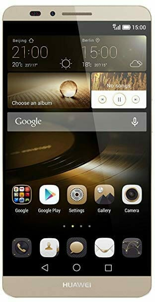 {Contest} Phablet Huawei Ascend Mate7: Work device in the productivity test