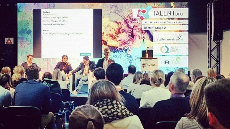{Best of HR Live} Süddeutsche Newspaper panel discussion with Simone Janson: Cultural Fit at TALENTpro