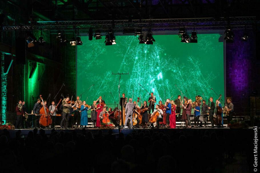 Mit Manuela Schwesig und Gerhard Schröder beim Usedomer Musikfestival