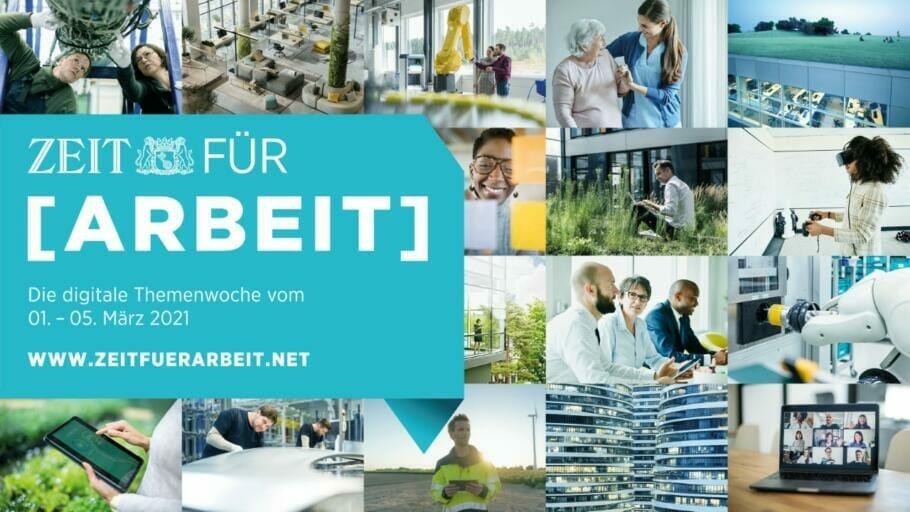 {Medienpartnerschaft} Event des ZEIT-Verlages: Digitale Themenwoche ZEIT für Arbeit